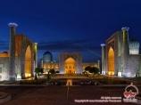 La Plaza Registan. Samarkand, Uzbekistán