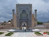 Mausoleum von Gur-Emir (XV Jahrhundert). Samarkand, Usbekistan