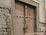 Ancient carved doors. Crafts of Uzbekistan