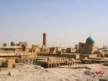 Panorama von Buchara. Usbekistan