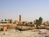 Panorama of Bukhara. Uzbekistan