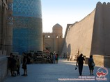 Ichan-Kala (15th c.). Jiva, Uzbekistán