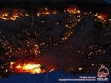 Газовый кратер Дарваза. Каракумы, Туркменистан