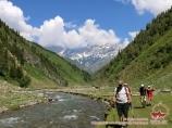 Kyzyl-Suu river. Tian-Shan, Kyrgyzstan