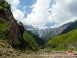 Kyzyl-Suu river. Pamir, Kyrgyzstan
