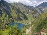 Sary Chelek lake. Tien Shan, Kyrgyzstan