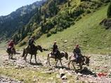 Kirguistán, Región de Tian-Shan