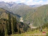 Ashuu pass (2551m)
