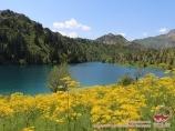 Озеро Ири-Кель. Тянь-Шань, Кыргызстан