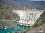 Курпсайская ГЭС. Река Нарын. Джалал-Абадская область, Киргизия