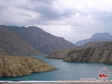 Река Нарын. Джалал-Абадская область, Киргизия