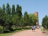 Башня Бурана. Городище Бурана, Кыргызстан