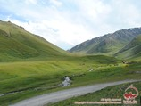 Летние пастбища (джайлоо) в Кыргызстане