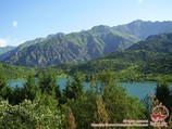 Озеро Сары-челек. Кыргызстан