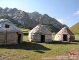Кыргызские юрты