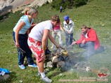 Teambuilding in Central Asia