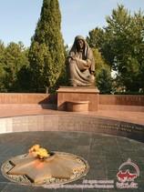 Place de L'indépendance. Tachkent, Ouzbékistan