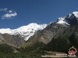 To the toe of the Khan-Tengri peak