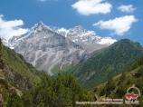 Вдоль реки Ак-Мечеть, Кыргызстан, район Памиро-Алая