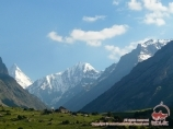 Ущелье реки Карасу, Кыргызстан, район Памиро-Алая