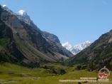 Долина реки Карасу, Кыргызстан, район Памиро-Алая