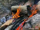 Le règne de montagnes Aksu-Karavchin