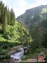 To famous lakes of western Tien-Shan by horses