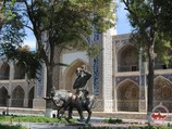 Nadir Divan-Begi Madrasah. Bukhara, Uzbekistan