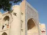Khanako de Nodir Divan Begi. Bujara, Uzbekistán