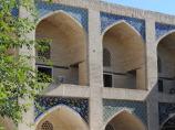 Madraza Nadir Divan Begi. Bujara, Uzbekistán