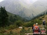 Trekking in Terskey Alatau
