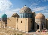 Shah-i-Zinda Necropolis. Samarkand, Uzbekistan