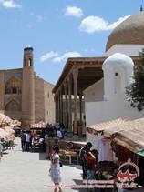 Mezquita Ak. Jiva, Uzbekistán