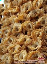 Чучвара жареная (жареные пельмени). Блюда узбекской кухни