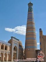 Conjunto de Islam Khodja. Jiva, Uzbekistán