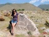 Museum of petroglyphs (stone garden), Cholpon-Ata, Kyrgyzstan