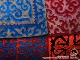Products from felt. National art of Kyrgyzstan