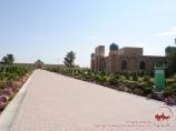 Mausolée Khakim at-Termizi. Ouzbékistan, Termez