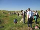 Afrasiab archaeological site. Samarkand, Uzbekistan