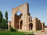 Ishrathona monumento. Samarkanda, Uzbekistán