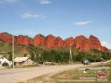 Ущелье Джеты-Огуз («Семь быков»). Каракол, Кыргызстан