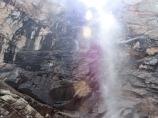 Черный водопад. Ущелье Аксай. Чимган, Узбекистан