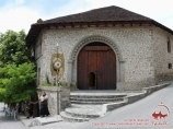 Caravanserai Sheki. Azerbaiyán