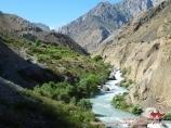 Река Амшут. Фанские горы
