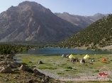 Озеро Бибиджанат. Фанские горы