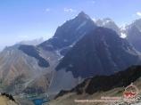 Вид с перевала Алаудин. Фанские горы