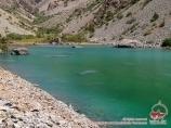 Озеро Малое Алло. Фанские горы