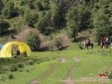 Высокогорная долина Суусамыр, Кыргызстан