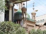 Уличные лавки Кашгара. Китай