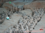 Terracotta Army inside the Qin Shi Huang Mausoleum